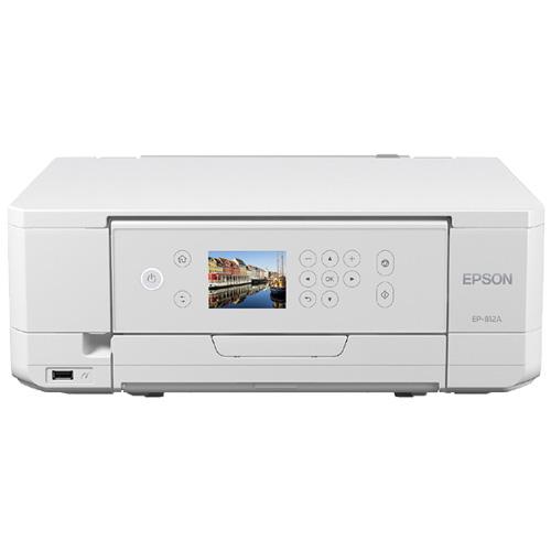 Colorio EP-812A [A4カラーインクジェット/多機能/6色/無線LAN/Wi-Fi Direct/両面/2.7型液晶]