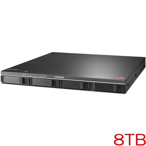 アイオーデータ ZHD4-UTXR ZHD4-UTX8R [19インチラックマウント型4ドライブ外付HDD 8TB]:イートレンド店