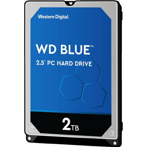 ウエスタンデジタル WD20SPZX [WD Blue (2TB 2.5インチ 7mm厚 SATA 6G 5400rpm 128MB)]
