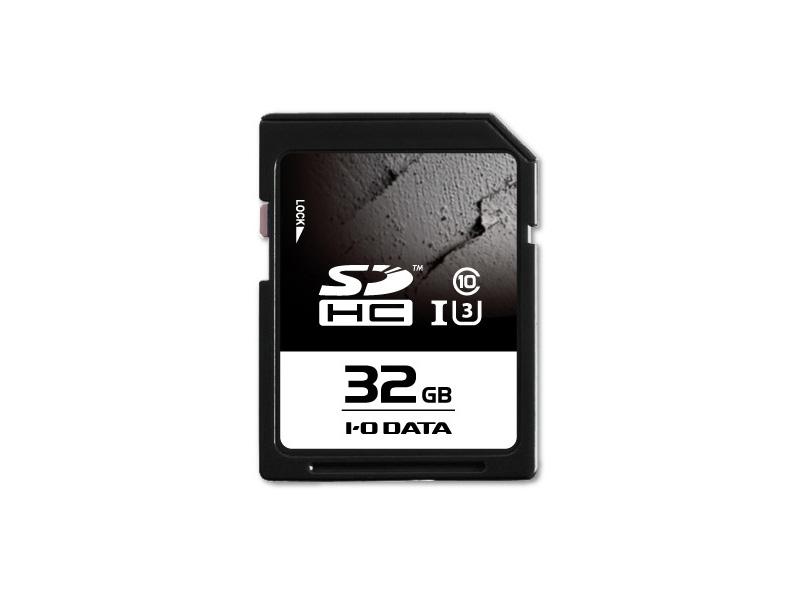 アイオーデータ SDU3-R SDU3-32GR [UHS-I UHS スピードクラス3対応 SDHCカード 32GB]