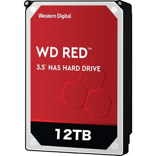 ウエスタンデジタル WD120EFAX [WD Red(12TB 3.5インチ SATA 6G 5400rpm 256MB)]