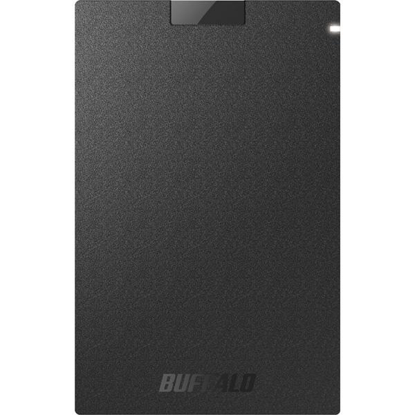 バッファロー SSD-PG1.9U3-BA [USB3.1(Gen.1) ポータブルSSD 1.9TB ブラック]