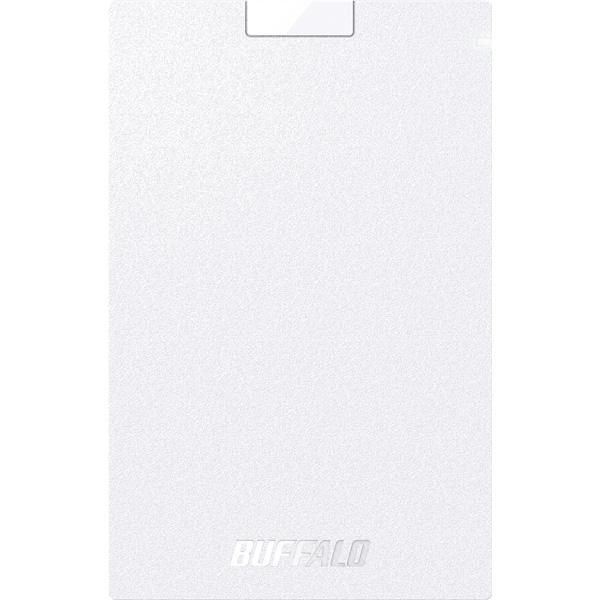バッファロー SSD-PG1.9U3-WA [USB3.1(Gen.1) ポータブルSSD 1.9TB ホワイト]
