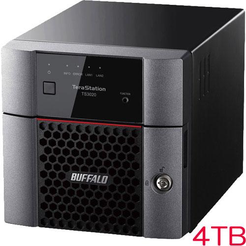 4TB] バッファロー [TS3220DNシリーズ 2ベイデスクトップNAS TS3220DN0402