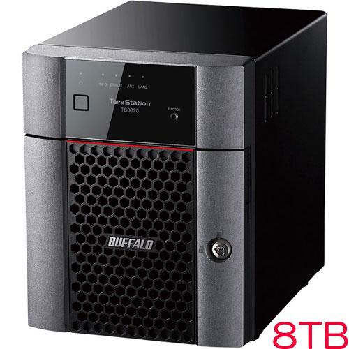 バッファロー TS3420DN0804 [TS3020DNシリーズ 4ベイデスクトップNAS 8TB]