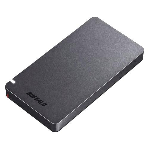 バッファロー SSD-PGM1.9U3-B [USB3.1(Gen2) ポータブルSSD 1.9TB ブラック]