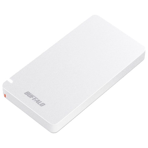 バッファロー SSD-PGM1.9U3-W [USB3.1(Gen2) ポータブルSSD 1.9TB ホワイト]