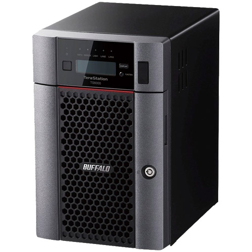 バッファロー TeraStation TS6600DN3606 [TS6000DNシリーズ 6ベイ デスクトップNAS 36TB]