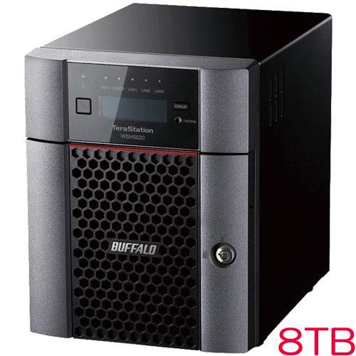 バッファロー TeraStation WSH5420DN08S9 [WSH5420DNS9シリーズ 4ベイ デスクトップNAS 8TB]
