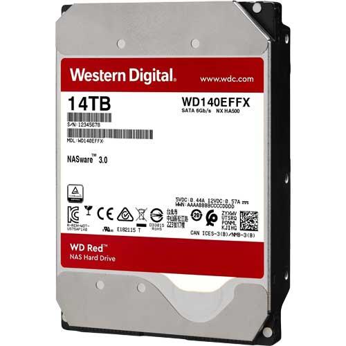 ウエスタンデジタル WD140EFFX [WD Red(14TB 3.5インチ SATA 6G 5400rpm 512MB)]