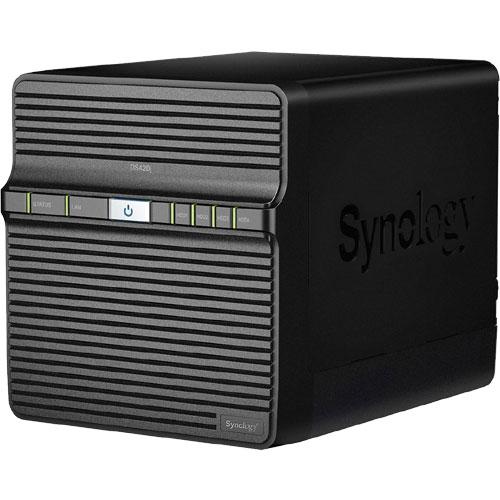 Synology DS420j/JP [★ガイドブック付き★ DiskStation 4ベイ NAS 4コア64bit CPU 1GBメモリ SATA対応]