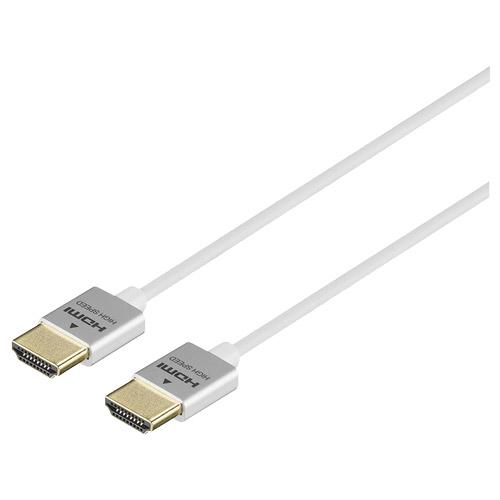在庫僅少 バッファロー(サプライ) BSHD3S10WH [HDMIケーブル スリムタイプ 1m ホワイト]