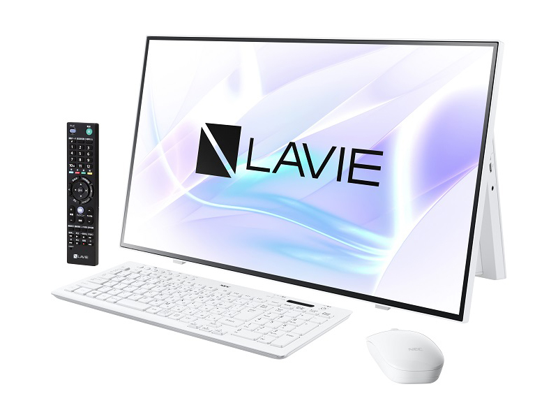 NEC LAVIE Home All-in-one PC-HA970RAW [LAVIE Home AiO - HA970/RAW ファインホワイト]
