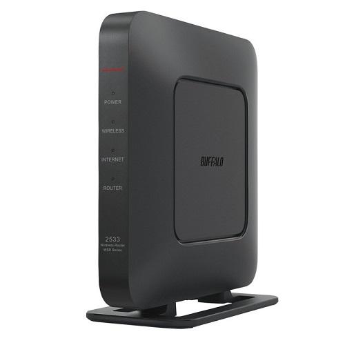 送料無料 在庫あり バッファロー 2020 新作 WSR-2533DHPL2 無線LAN親機 ブラック DB 絶品 1733+800Mbps