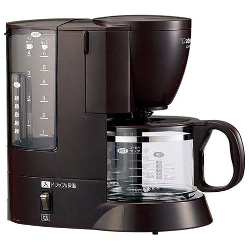 送料無料 在庫僅少 セールSALE%OFF 珈琲通 EC-AK60 ダークブラウン コーヒーメーカー カップ6杯分 TD 安心の定価販売
