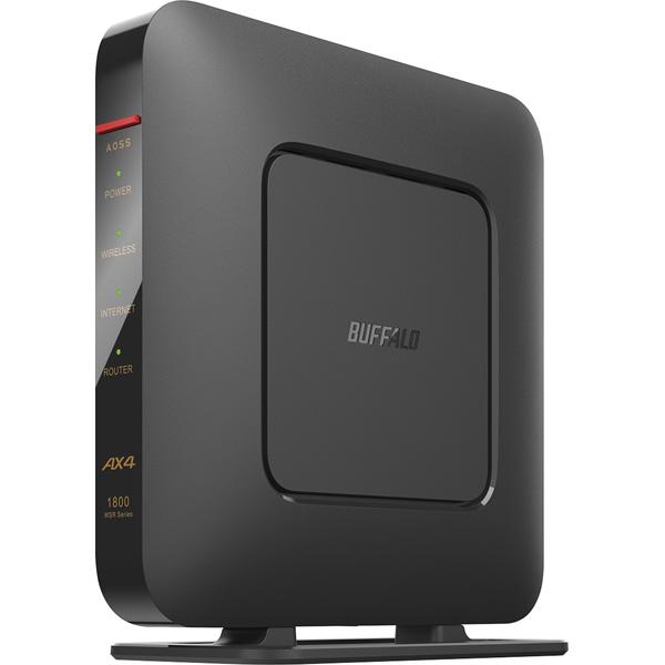 送料無料 在庫あり バッファロー WSR-1800AX4S DBK オンラインショップ 超人気 専門店 Wi-Fi 6 1201+573Mbps 対応Wi-Fiルーター 11ax AirStation