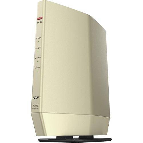 送料無料 在庫あり バッファロー WSR-5400AX6S DCG 無線LANルーター 11ax 訳あり品送料無料 ac b n WiFi6 バーゲンセール 4803+573Mbps a g Ipv6対応