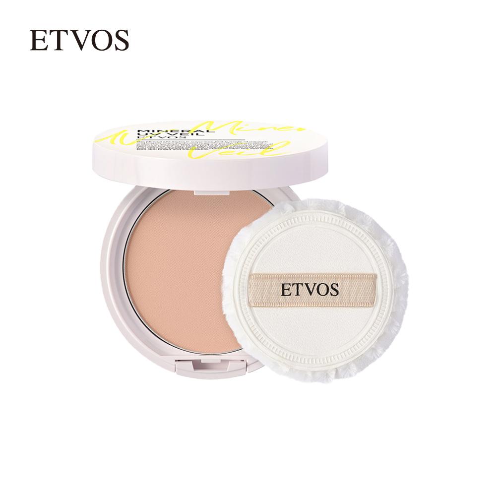 エトヴォス ETVOS 個数限定 《2021年版》パフ 鏡付き ミネラルUVベール SPF45 PA+++ 30日間返品保証 パウダー UVカット UV ブルーライトカット 安売り フェイスパウダー 超定番 日焼け止め 紫外線カット アフターサンケア