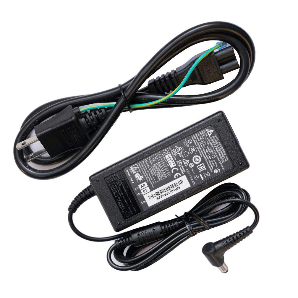 外径 5.5mm 在庫一掃 内徑 2.5mm 世界大手メーカー DELTA 製 送料無料 マウスコンピューター mouse 爆安 computer 3.42A 純正同様 電源 ACアダプター ADP-65JH 2.5mmの機種のみ 対応 HB 19V 注意:プラグ