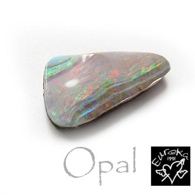 ボルダーオパール ルース 天然石 10月の誕生石 9.29ct オーストラリア産 【送料無料】