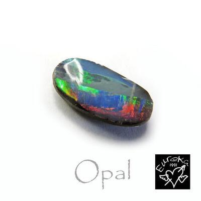 ボルダーオパール ルース 天然石 10月 誕生石 1.39ct オーストラリア産 オーダー プレゼント 送料無料