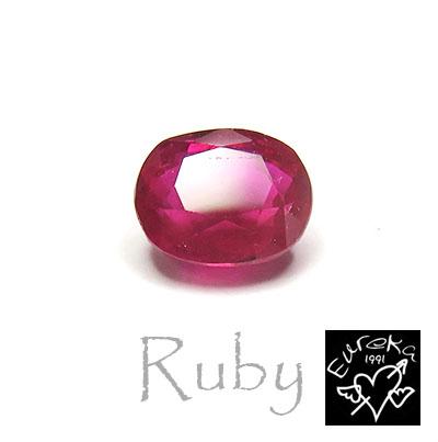 ルビー ルース 天然石 7月 誕生石 ミャンマー産 1.11ct 送料無料