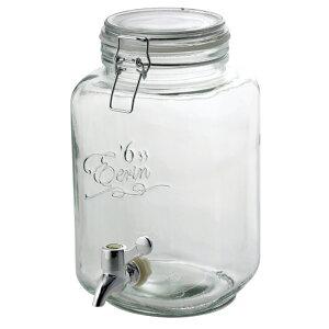 キッチンのカウンターやテーブルに置いて 手軽に使えるサーバー 送料無料 SALUS セイラス ドリンクサーバー 3L ウォーターサーバー おしゃれ 《週末限定タイムセール》 サングリア ドリンクディスペンサー 梅酒 果実酒 カフェ ガラス製瓶 ジュース作り smtb-KD NEW