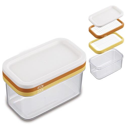 大きなバターもギュッとひと押しかんたんカット 業務用ボンドバター 新色追加 450g を約10gにカットできる 大 新作通販 ~カットできちゃうバターケース~ ST-3006 バターカッティングケース クーポン対象商品