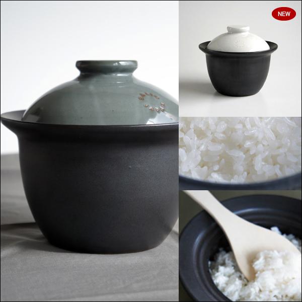 【送料無料】『ロロ SALIU サリュウ 炊飯土鍋 2合炊き』[LOLO]【smtb-KD】【 キッチン 土鍋 直火 和食器 陶器 炊飯 2合炊き 】