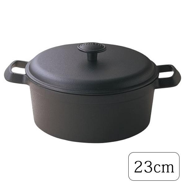 【送料無料】『ファミリーシチューパン 23cm』【南部鉄器 キッチン 鍋 両手鍋 シチュー】【smtb-KD】