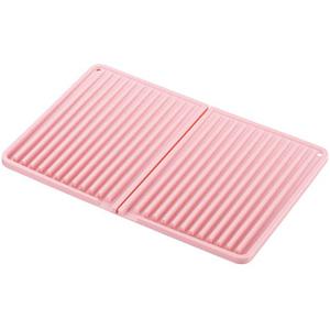 キッチン用品から生活アイテムまでオシャレで便利な雑貨 送料無料 メーカー直送 SALUS セイラス クーポン対象商品 安売り smtb-KD ピンク シリコン水切りマット