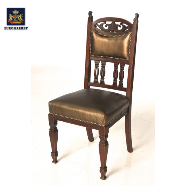 Antique chair chair antique furniture teacher displace a pillows horcher  ornament Victorian highback Chair dining table chairs - Euro-market Rakuten Global Market: Antique Chair Chair Antique