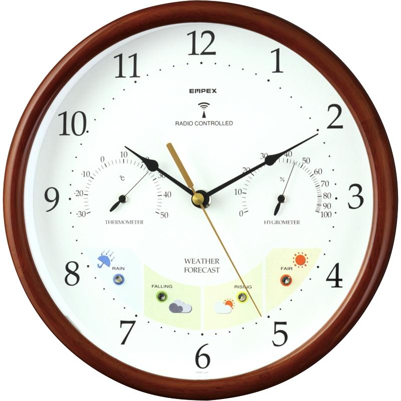 エンペックス ウエザーパル電波時計 BW-873