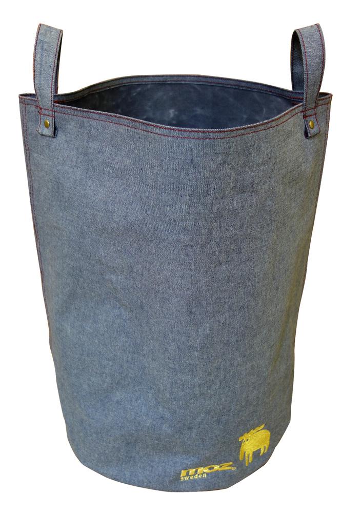 贈与 ランドリーバック エルクの刺繍がポイントの爽やかなランドリーバック 1000円ポッキリ 送料無料 MOZ 在庫一掃売り切りセール ランドリーバッグ 洗濯物入れ 1015863 コインランドリー用 バック ラージ