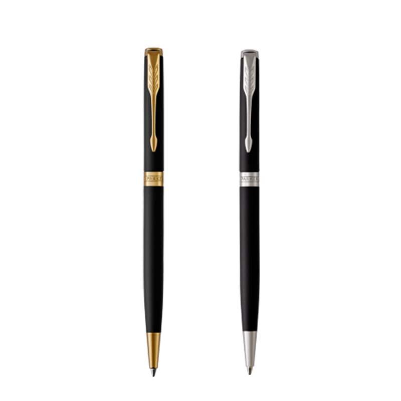 【名入れ不可】【取り寄せ品】ソネット マットブラックGT マットブラックCT スリムボールペン
