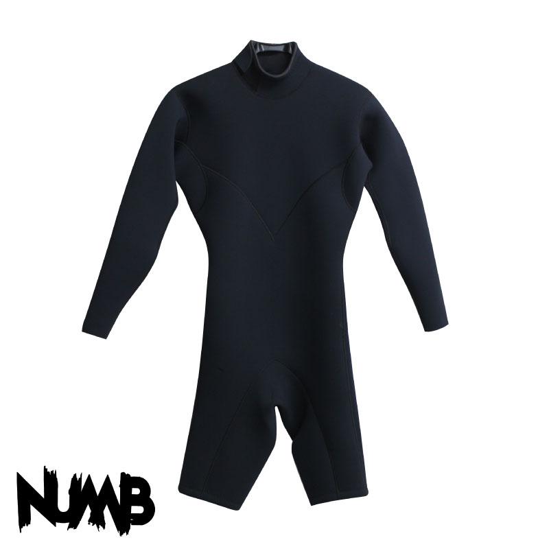 NAMB ウエットスーツ ロングスプリング バックジップ ジャージ