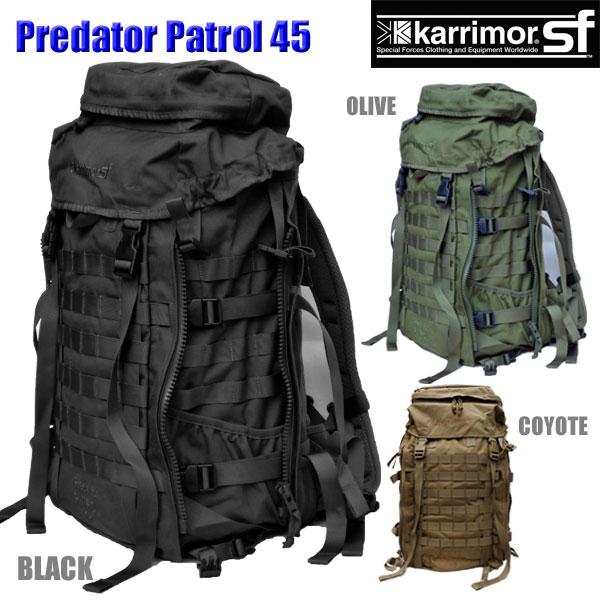 c97a3d958a1e 正規輸入代理店直売 karrimor SF Predator Patrol 45 M012 カリマー SF ...