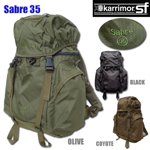 【正規輸入代理店直売】karrimor SF Sabre 35 M003 ・ カリマー SF セイバー 35【送料無料】ミリタリー バックパック リュックサック