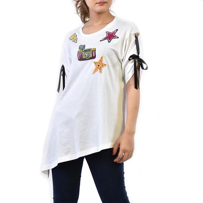 ドルチェ&ガッバーナ Tシャツ DOLCE&GABBANA ホワイト F8H01Z G7KKN W0800 ラスト1点 母の日 プレゼント