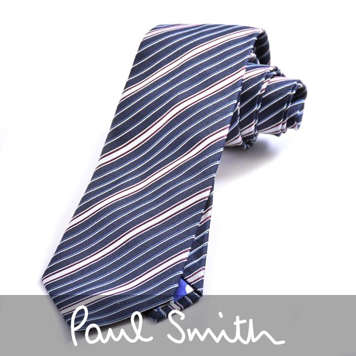 ポールスミス Paul Smith ネクタイ M1A 552M AZ10 79 ブルー メンズ ブランド プレゼント【メンズ】