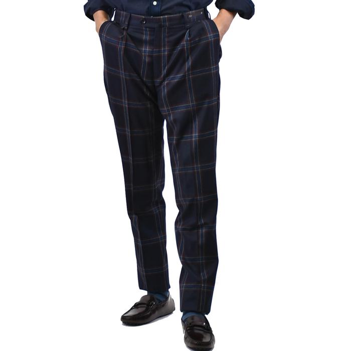 ピーティーゼロウーノ パンツ PT01 ブルー Welton Academy FB91 CP GF11ZPOWEL メンズ