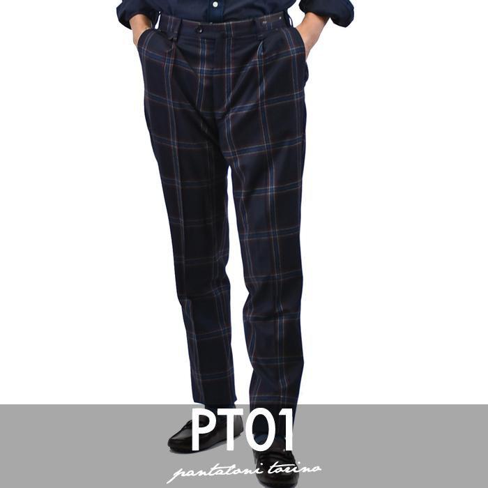 ピーティーゼロウーノ パンツ PT01 ブルー Welton Academy FB91 CP GF11ZPOWEL 【送料無料】