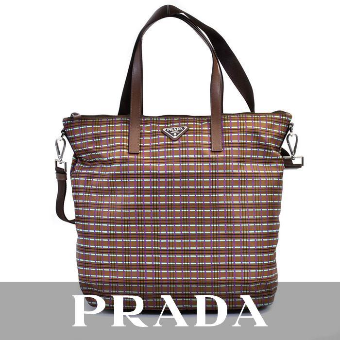 プラダ ショッピングバッグ PRADA マルチ B4696G F0POW 【送料無料】【ユニセックス】