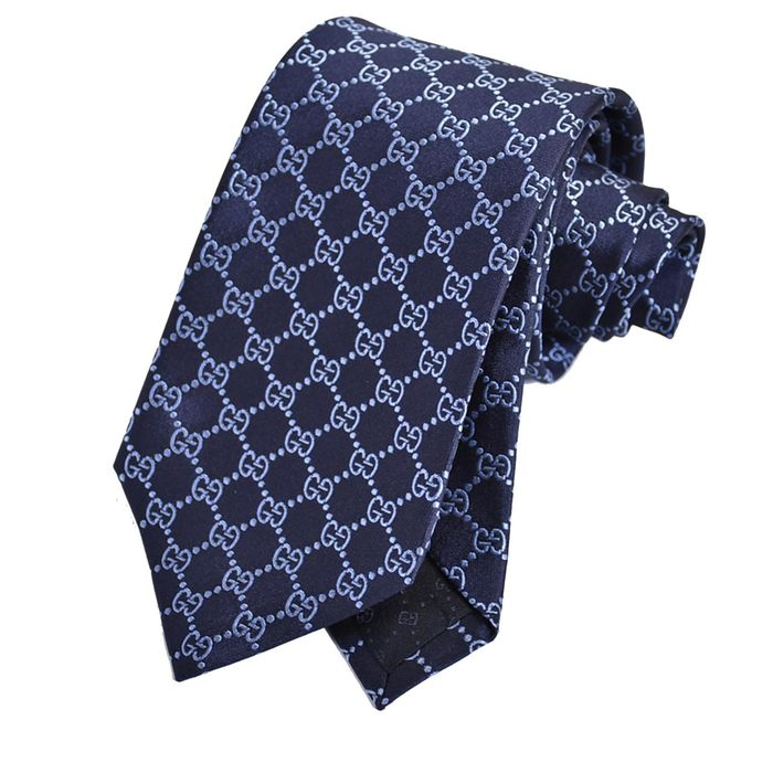 グッチ ネクタイ GUCCI ブルー 456524 4069 メンズ ギフト プレゼント 仕事 フォーマル ビジネス 入学祝い 就職祝い