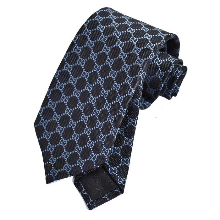 グッチ ネクタイ GUCCI ブルー 456522 1069 メンズ ギフト プレゼント 仕事 フォーマル ビジネス ラスト1点