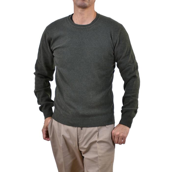 リブランディッド セーター RE-BRANDED グリーン RB08 VMA 【MORE SALE】 ラスト1点 メンズ