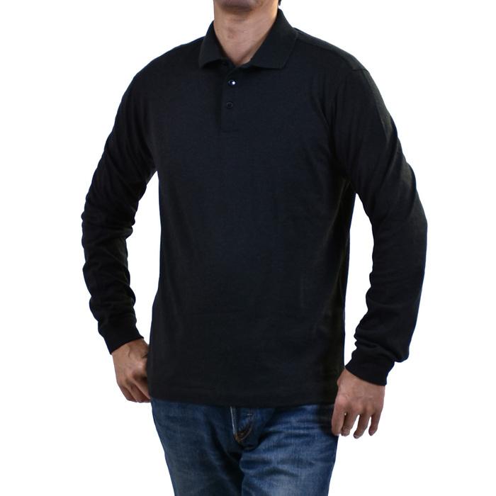 エルメネジルドゼニア ポロシャツ ERMENEGILDO ZEGNA ブラック MAGLIA VN345 ZZ717 99 メンズ