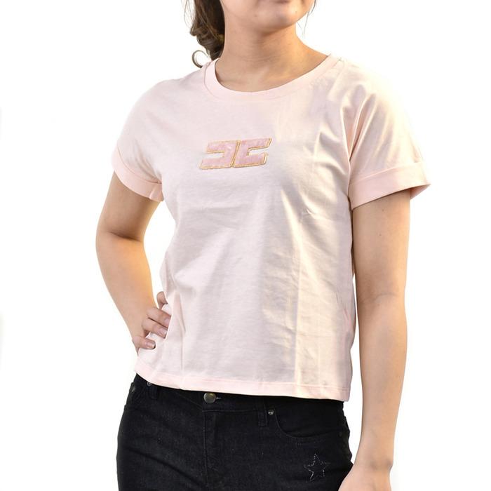 エリザベッタ フランキ Tシャツ ELISABETTA FRANCHI MA04181E2 ピンク 母の日 プレゼント