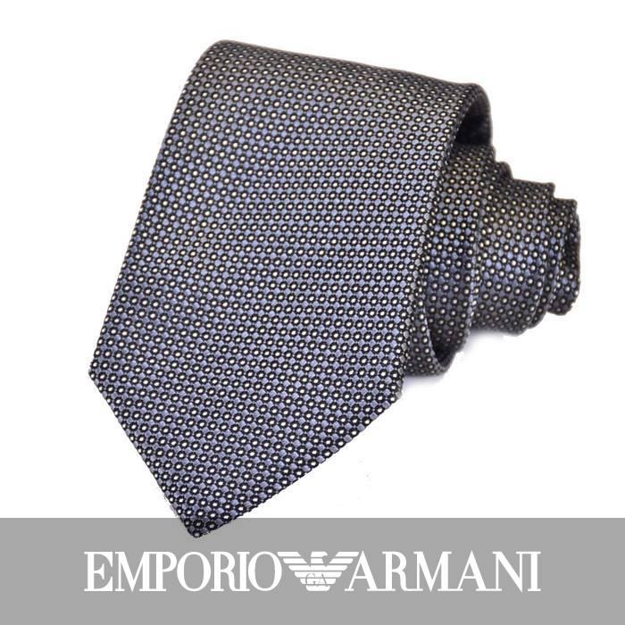 エンポリオアルマーニ ネクタイ EMPORIO ARMANI 8A314 00041 グレー