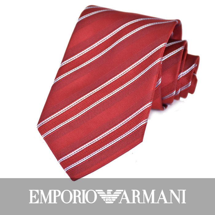 エンポリオアルマーニ ネクタイ EMPORIO ARMANI 8A402 06276 レッド